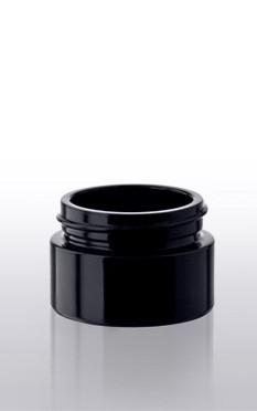 Violettglas - Kosmetikdose mit Deckel - 15 ml