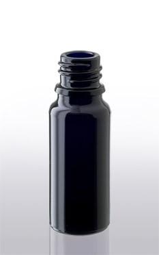 Violettglas - Flasche mit Tropfverschluss - 10 ml