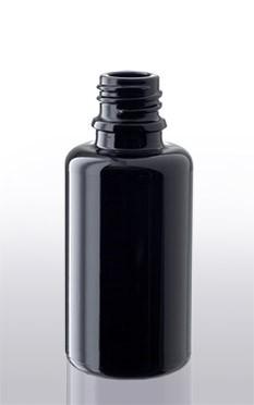 Violettglas - Flasche mit Tropfverschluss - 30 ml