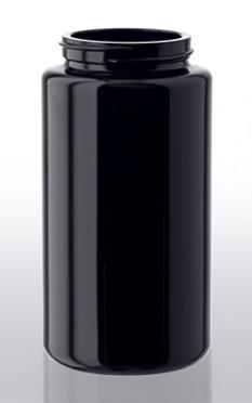 Violettglas - Weithalsdose mit Deckel - 200 ml