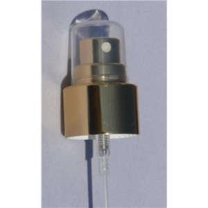 Sprayverschluss gold - für FL 10 ml bis 100 ml