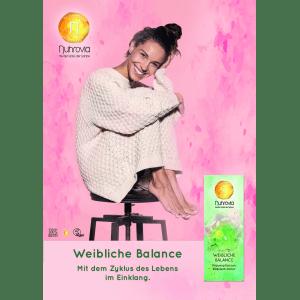 Plakat Weibliche Balance